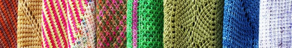 Crochet tunisien en couleurs