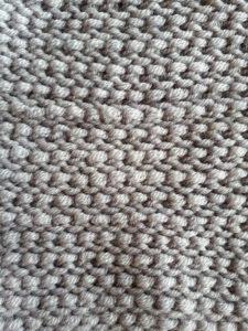 Tunisian purl reverse stitch