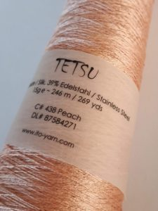 Tetsy Ito yarn - silk and stainless steel