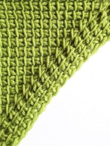 Increase with simple and knit stitches