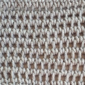 Extended Tunisian full stitch