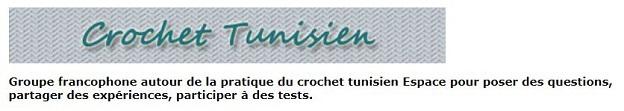Groupe Crochet tunisien sur Ravelry