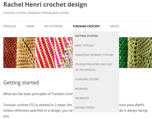 More about Tunisian crochet stitches and techniques