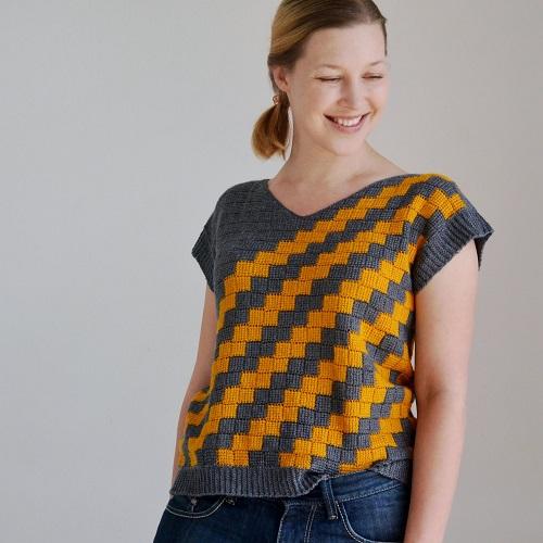 Crochet designer Lena Fedotova