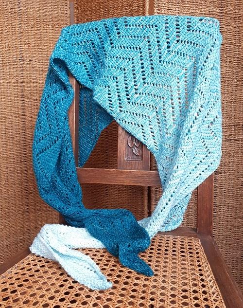 The road less traveled, Tunisian crochet pattern by Aklori