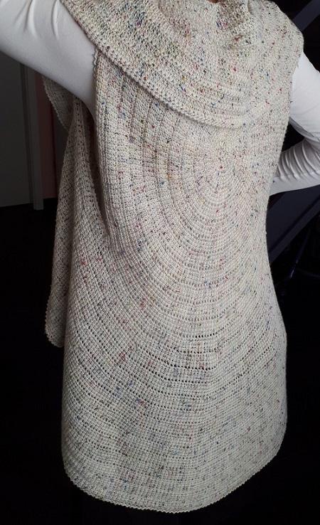 Whirligig vest, patron au crochet tunisien de Abbeymade