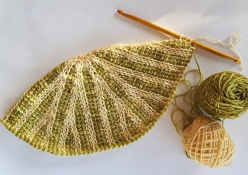 Bonnet Décagone crochet tunisien