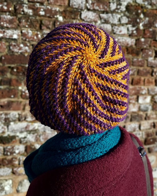 Beanie Somme toute in merinosweet by Le Jardin des Fibres