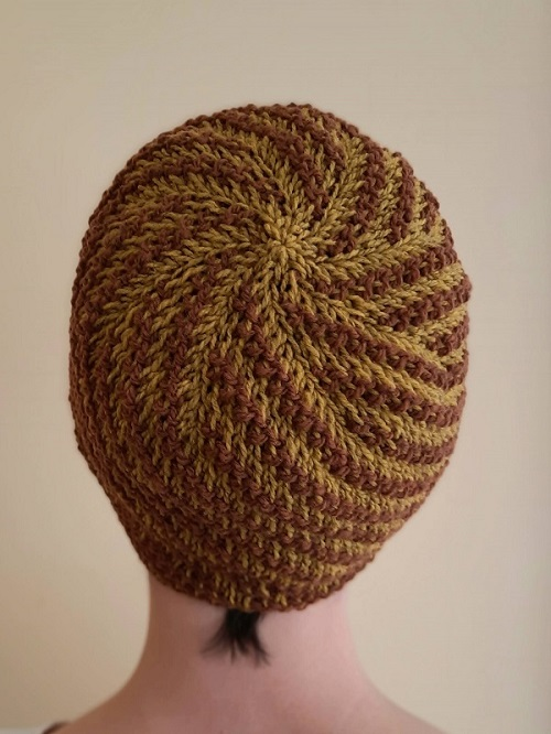 Beanie Somme toute in yarn Ulysse from De Rerum Natura